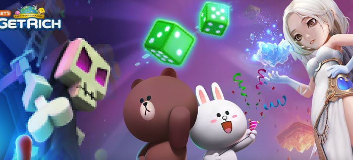 line let's get rich game online android