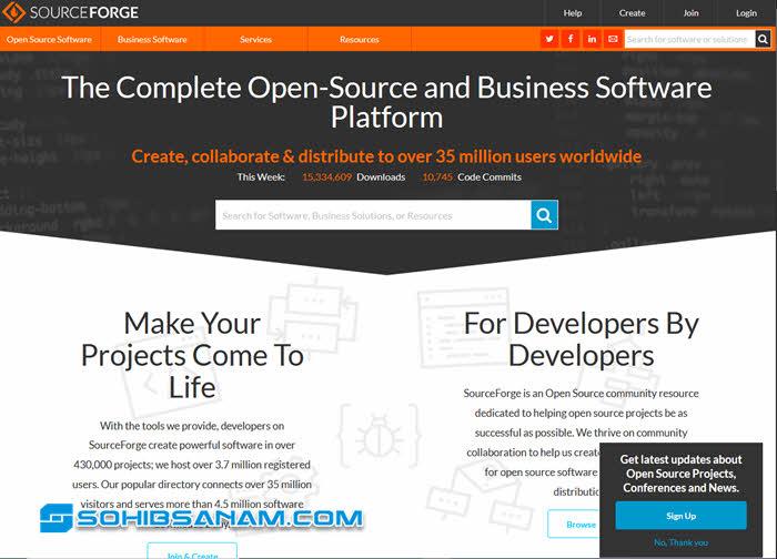 situs download software sourceforge.net