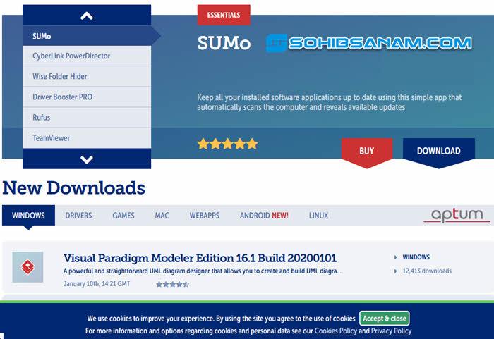 softpedia situs download aplikasi terlengkap